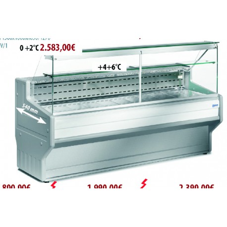 Verkaufstheken HL 10 / A1 - 1500
