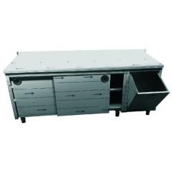 Arbeitsschränke mit Schiebetüren TA167/M (110 Kg.)