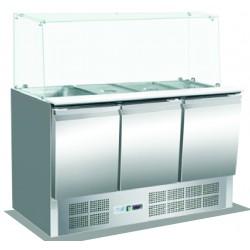 Saladetten und Kühltische KBS 904