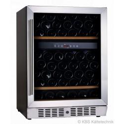 Vino 160 zwei Temperaturzonen Weinkühlschrank, unterbaufähig
