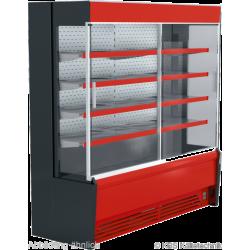 Wandkühlregal Paros Pro 252 mit Schiebetüren