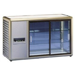 Aufsatzkühlvitrine Orizont 200 Q (bronze)