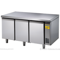 Bäckereikühltisch BKTF 3000 O (für Zentralkühlung)