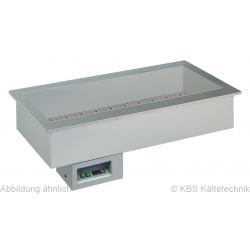 Armonia Einbaukühlwanne GN 5/1 still ohne Maschine