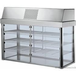 Aufsatz-Kühlvitrine Kühlplatte Compact C-AKV 1100 SB
