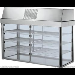 Aufsatz-Kühlvitrine Kühlplatte Compact C-AKV 1400 SB