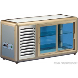 Aufsatzkühlvitrine Orizont 100 Q (bronze)