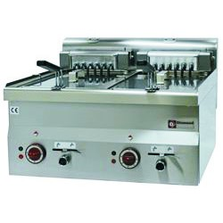 Elektro Fritteuse  E60/F20-6T (2x10 Liter-Elektro)