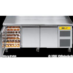 Bäckereikühltisch BKTF 3020 M (Arbeitsplatte mit Aufkantung)
