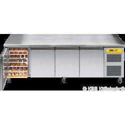Bäckereikühltisch BKTF 4010 M (mit Arbeitsplatte)
