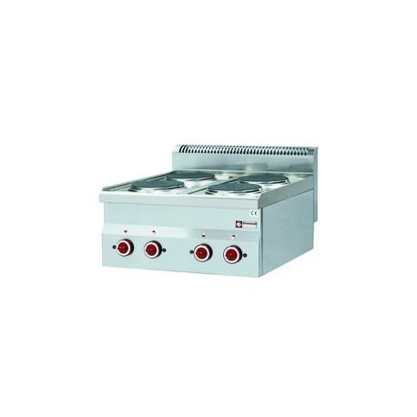 Elektroherd G60/4P6T (4 individuel Kochplatten)