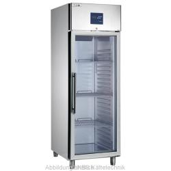 Edelstahl Glastiefkühlschrank TKU 717 G