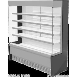 Edelstahlwandkühlregal Paros Pro E 162