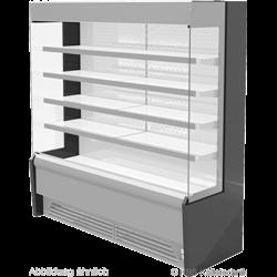 Edelstahlwandkühlregal Paros Pro E 252