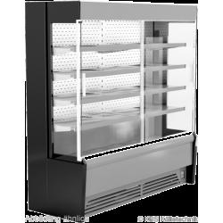 Edelstahlwandkühlregal Paros Pro E252 mit Schiebetüren