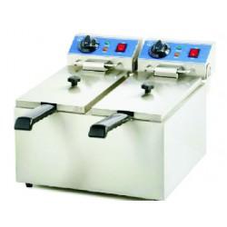 Friteuse / Elektro Ch612012 (2 x4 Liter)