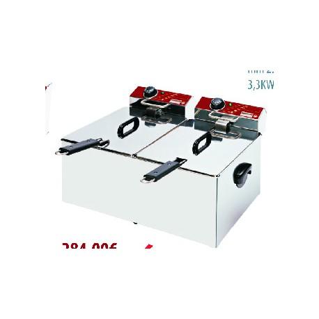 Friteuse / Elektro F7X7 / X (2 x 3,2 Kw - 2 x 230V)